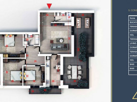 Apartament 4 camere -Titan - Pallady - Metrou Nicolae Teclu
