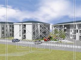 Apartament in ansamblu nou, zona buna, decomandat, etaj 1