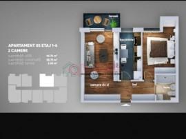 Apartament 2 camere- Aparatorii Patriei