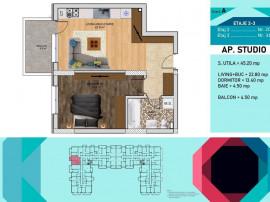Apartament 2 camere - Parcul Teilor - Auchan Titan