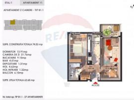 Apartamente 2 camere in complex rezidential Pipera -OFERT...