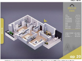 Apartament 3 camere -Titan-Pallady-1Decembrie 1918