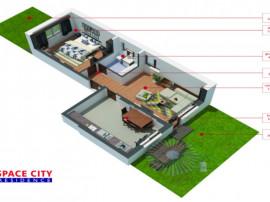 Apartament 2 camere ghencea, 2 curti, parcare, comision 0%