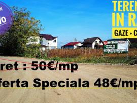 Propunere SPECIALA Teren in RATE Gaz /Curent comuna Berceni