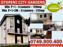 Otopeni City Gardens - vile 4 camere - P+1, 0% comision