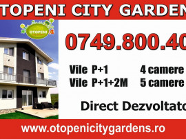 Vila 4 camere Otopeni City Gardens, P+1, Direct Dezvoltator