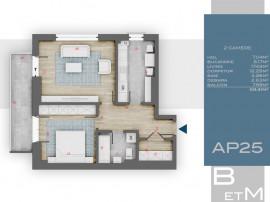 Apartament 2 camere decomandat, 3 min Metrou 1 Decembrie