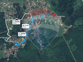 1000-3287 mp, teren, Paun, comision 0%, exclusivitate