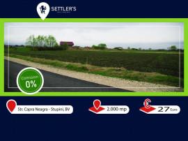 Teren Brasov / Strada Capra Neagra P+3, POT 40%.
