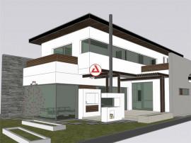 Vila Chitila -Mogosoaia arhitectura deosebita, amplasare fac