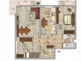 Apartament 3 camere, Pallady, Metrou Nicolae Teclu, Sector 3