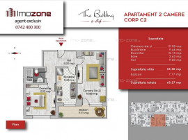 Apartament 2 camere decomandat, bucatarie inchisa, Milita...