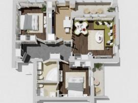 Bloc Nou Apartament 3 camere