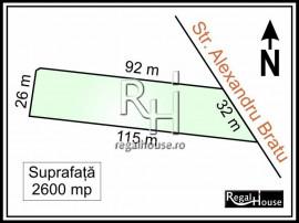 Sisesti, Alexandru Bratu, teren 2600 mp, autoriz. construire