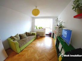 Apartament 2 camere, decomandat, 51 mp+balcon, 2 parcari, et
