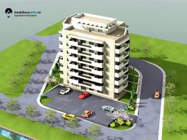Apartament nou cu 2 camere, 51.6 mp, zona Bucium