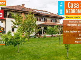 Casa Eleganta in Stil Neo-Romanesc in Buftea cu 920 MP teren