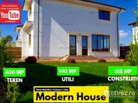 Casa Moderna stil Mediteranean cu 4 camere in Crevedia