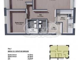 Spatiu cu 3 camere pentru birouri in zona B-dul Muncii