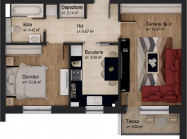 Apartament 2 camere 5% DISCOUNT 01.05-31.05