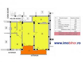 Apartament cu 3 camere intr-un bloc nou - Nufarul