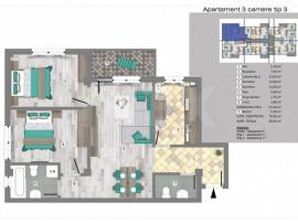 INEX.ro | Apartamente 3 camere in Trivale Park | 3C3