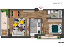 Apartament cu 2 camere de vânzare în zona Ghencea