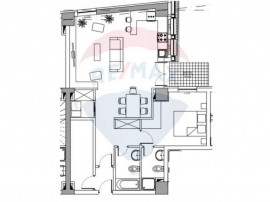 Penthouse 4 camere / 2 nivele, Brasovul Vechi