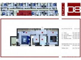 Titan-Pallady 2 camere decomandate - Parcare acoperita Direc