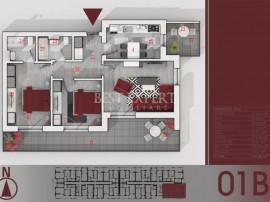 Apartament 3 camere cu Terasa 21mp | Parcare Subterana | Ide
