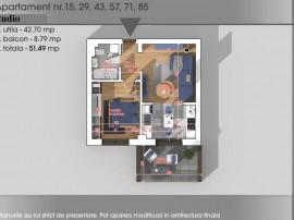 Rossa Residence - Apartament 2 cam. tip studio