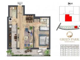Apartament 2 camere de vanzare Herastrau B4.2.3