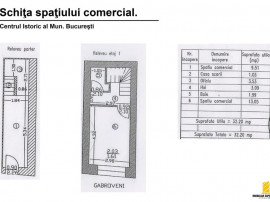 Centrul Istoric: 32 mp utili, Parter si Etaj 1. O buna af...