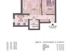 Apartament 2 camere, mutare rapida, Dimitrie Leonida