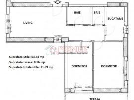 Apartament 3 camere decomandat, 2 bai - Metalurgiei.