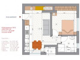 Apartament 2 camere stradal Bulevardul Uverturii
