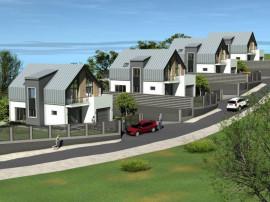 Zona Rezidentiala cu Panorama complex de 4 case!
