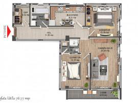 EXCLUSIV! 8 apartamente/bloc, lift, incalzire in pardoseala,