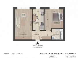 2 Camere Parter - Spatios - Metrou Berceni -Comision 0%