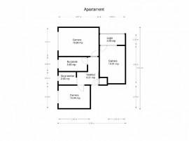 Apartament 3 camere, Bd. Alexandru Obregia