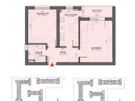 2 Camere in compex nou langa Mall Plazza Romania