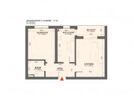 Apartament 2 Camere Complex nou Plaza Residence Faza 2