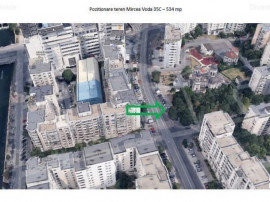 Teren 530 mp zona Unirii Certificat urbanism P+14
