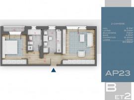 Apartament 2 camere decomandat, 3 min Metrou 1 Decembrie, Th