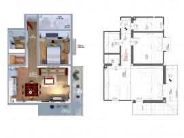 Apartament cu 2 camere direct de la dezvoltator in UNIRII.