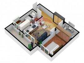 Inedit/ Etaj 1 /Apartament deosebit 3camere 54mp utili /b...