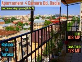 Apartament cu 4 camere cu priveliste panoramica unica pe Bd.