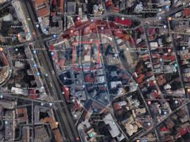 Universitate, Chirie colectata 8000 euro/luna, 2 etaje in...