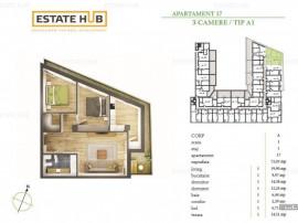 Apartament 3 camere, direct de la dezvoltator!