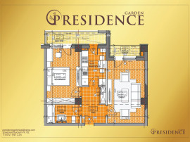Apartament 2 camere nou, deosebit, in PResidence Garden